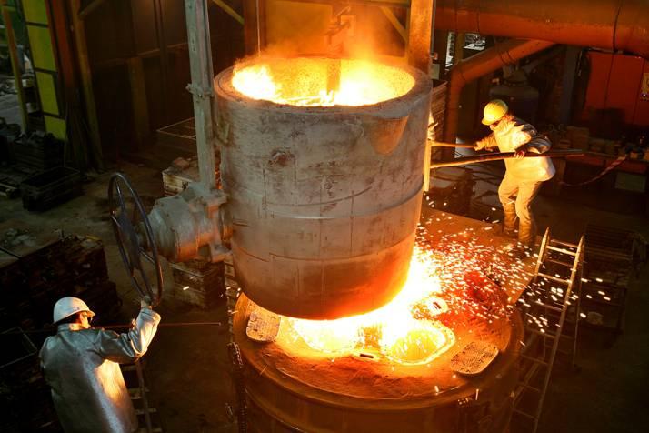 High-grade steel foundry / mechanical treatment | OTTO JUNKER Raw Nickel